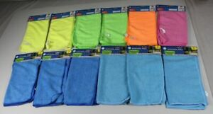24x Microfiber Cloth Universal Cleaning - 12x 2er Pack Each 11 13/16x11 13/16in