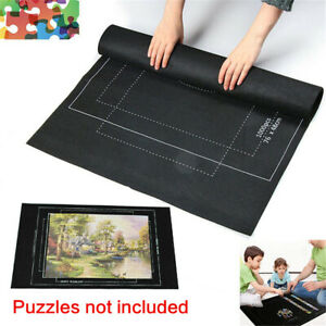 Puzzles Mat Jigsaw Roll Felt Mat Play mat Blanket For Up to 3000 Pcs Puzzle