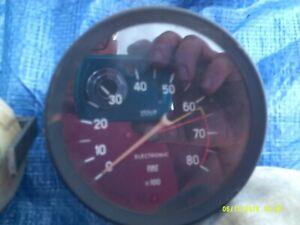 FIAT 124 SPIDER TACHOMETER DEEP STYLE NICE