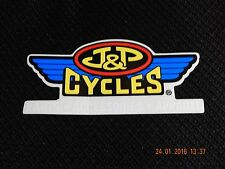 """J&P CYCLES PARTS ACCESSORIES APPAREL STICKER DECAL MOTORCYCLE CAR 5"""" X 2 1/2"""""""