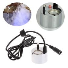 LED Colorful Light Ultrasonic Mist Maker Fogger Water Fountain Pond Decoration