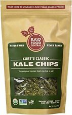 Curts Classics Kale Chips 100% Organic Raw Vegan Snacks