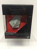 Star Wars Black Series Titanium #6 Vehicles - First Order Star Destroyer