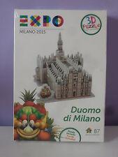 PUZZLE 3D DUOMO DI MILANO EXPO' 2015 Milan Foody Limited Edition rarità New OVP