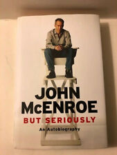 John McEnroe But Seriously Book 2017 1st Edition Autographed Signed w/ COA
