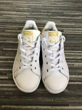 Girls Retro Adidas Stan Smith Trainers Size 10