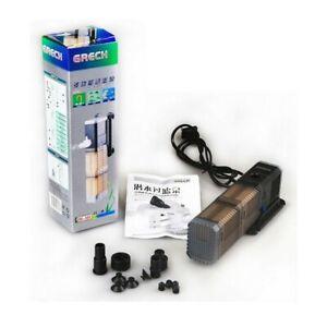 CHJ-502 Pump Filter Turbo Modular 7W 500L/H Aquarium 30 - 72L Sweet Marine