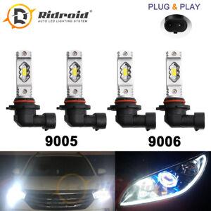 9005 9006 Combo LED Headlight Bulb for Toyota Corolla 2001-2013 High Low Beam