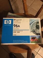 GENUINE FACTORY-SEALED HP C4096A 96A BLACK TONER CARTRIDGE FREE SHIPPING!New!!!!