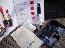 Chanel skincare set rouge coco shine, mascara, eye cream, les beiges