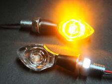 4X LED TURN SIGNAL NANO CHROM DUCATI MONSTER 900 696 750 ALL MODELLS 750SS 848