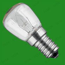10x 25W Oven Cooker, Pygmy SES Light Bulbs, E14, 300 Degree Heat Resistant Lamps