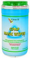CITRUS II CPAP MASK CLEANING WIPES (1) CANISTER OF 62 WIPES