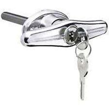 NEW STANLEY 730880 GARAGE DOOR T HANDLE LOCK CYLINDER KEY CHROMIUM 6460422