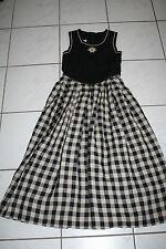 Kl2916 @ lino bávara @ LARP Trachten vestido @ miederdirndl @bavarian dress 158