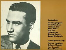 Artie Shaw & His Orchestra 1949-1950 THE THESAURUS TRANSCRIPTIONS vol. 3 LP