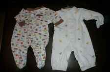 3 m Carter's longall ducks 3 6 m Baby Starter's outfit jungle LOT EUC