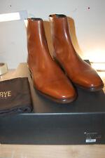 NIB FRYE Men's Wright Back Zip Cognac 10.5 M US $589 Italian calf leather Boots
