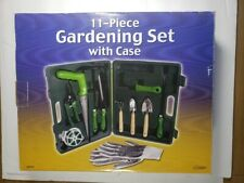 Gardening Set 11 Pieces With Case And Gloves