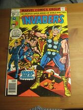 Invaders # 32 September 1978 Marvel Comics - Awesome Jack Kirby THOR Hitler cov.