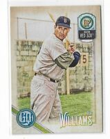 2018 Topps Gypsy Queen Baseball Legend SP high number #315 Ted Williams