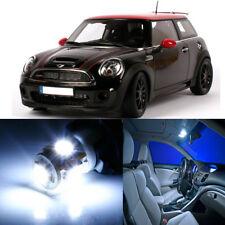 16×White Canbus for MINI COOPER Hatchback R55 R56 LED Interior Light Kit 10-13
