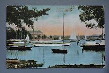 R&L Postcard: Wherry Hotel Oulton Broad 1903 Valentine