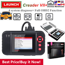 LAUNCH X431 VII+ OBD2 Scanner Automotive ABS SRS Engine Code Reader as CRP123