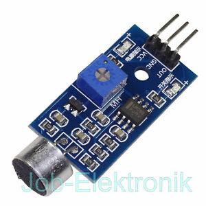 Mikrofonmodul Klatschschalter incl Mikrofonkapsel Geräuschdetektor