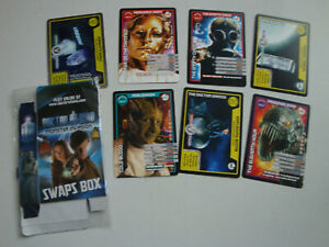 Bundle of Dr Who Monster Invasion Swaps box + Cards inc shiny