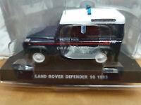 Land Rover Defender 90 1995 Carabinieri - Scala 1:43 - Atlas - Nuovo