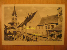 1925 AK Hermannstadt Partie am Hundsrücken Nagyszeben Sibiu România PC