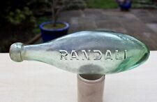 More details for vintage 1890s randall sloper & co southampton hants 10oz pointed hamilton bottle