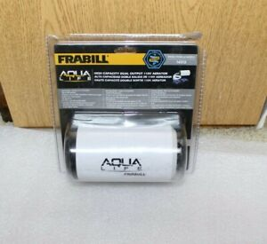Frabill Aqua-Life Aerator Dual Output 110V - up to 100 Gallons in package