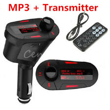 Hands-free Car Kit FM Transmitter Wireless Radio Adapter USB Charger Mp3 Player