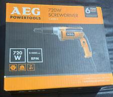 Brand New AEG S4000E Drywall Screwdriver 720W- 240V -