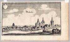 Rheda - Wiedenbrück - Merian Kupferstich 1647