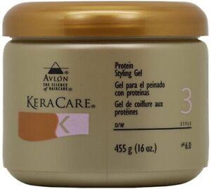 KeraCare Protein Styling Gel  (16 oz)
