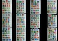 Stamp Collection Norway Sweden Denmark Finland Asia Laos Singapore Thailand Ext.