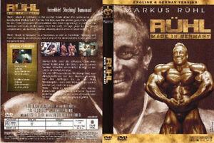 RUHL - DVD - Bodybuilding DOCUMENTARY - English + German - ALL REGION - RARE !