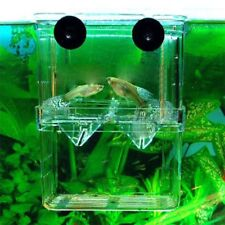 Clear Aquarium Hatchery Trap Fish Breeding Box Tank Fry Breeder Isolation Box