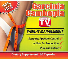 One (1) Bottle/60Tabs/1.7 Oz As Seen On Dr TV: Garcinia Cambogia Fat Burner!