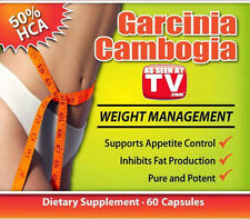 One (1) Bottle/60Tabs/1.7 Oz As Seen On Dr TV: Garcinia Cambogia Fat Burner!