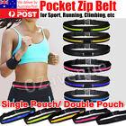 Waist Running Zip Belt Lycra Bum Bag Pocket Hiking Cycling Jogging Cycling Pouch