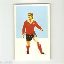 SIGMA Sport Silhouettes 1979/80 Football (Soccer) Action Portrait Card - VARIOUS