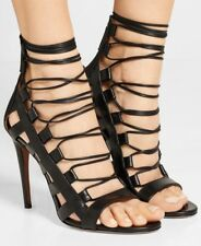 aquazzura amazon sandals black uk 5 EUR 38 Brand New