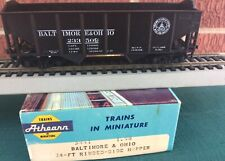 ATHEARN~ #5441~ BALTIMORE & OHIO~ 34' RIBBED-SIDE HOPPER #233509~ RTR ~HO SCALE