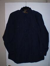 PROPPER Tactical Gear Mens Shirt Long Sleeve Button Down (Size LL) BLUE New!