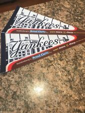 New York Yankees SGA Goldberg's Peanut Chews Felt Pennant Measures 8x18 inch