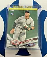 AARON JUDGE RC 2017 Topps Opening Day #147 New York Yankees RC Rookie HOT!